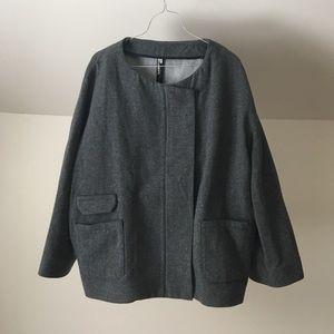 nwt IRO Dolman Slv Oversized Hiver Wool Blend Coat